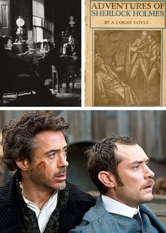 Happy birthday, Sherlock Holmes! (January 6)