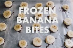 Want something cold and sweet to eat on hot, humid days? These frozen banana bites - complete with salted peanut butter & pretzels - are a little fancier and easier to eat than whole frozen bananas,...