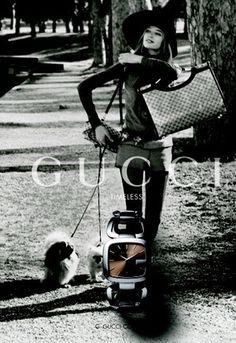 Gucci watch campaign via 1960's