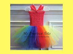 Candyland Birthday Dress  www.Facebook.com/MyPreciousTutu