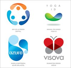 The top best logo designs from as well as a look at the 2016 logo & branding design trends and an inspirational logo design gallery showcase. Logo Design Trends, Best Logo Design, Web Design, 2 Logo, Logo Branding, Branding Design, Design Logos, Logo Inspiration, Logos Color