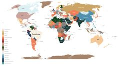 The most Googled products in every country, in one map (from Business Insider).