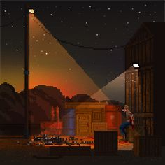 some waneella's pixel art