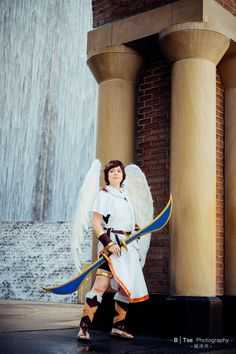 Pit Kid Icarus Cosplay / Cosplay Costume Kid by BrightWhites