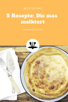 Op Nasionale Melktertdag deel ons 'n paar smullekker resepte sodat almal 'n sny van hierdie smullekker bederf kan geniet. South African Dishes, South African Recipes, Custard Recipes, Cake Recipes, Melktert, Food And Drink, Baking, Pastries, Tarts