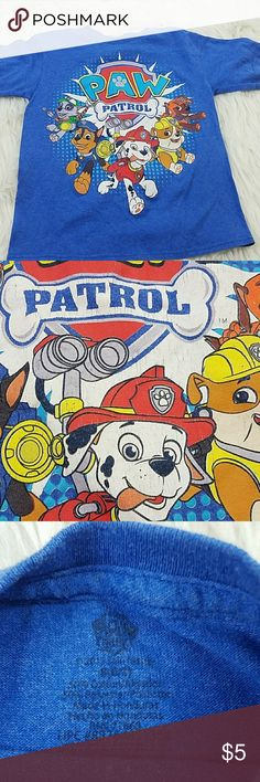 PAW patrol kids t-shirt. Size 8 PAW patrol T-shirt. See photos for detalis. Shirts & Tops