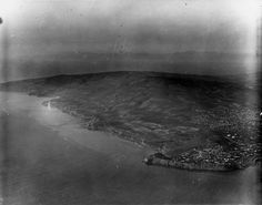 Very old photo of the south side of the Palos Verdes Peninsula.