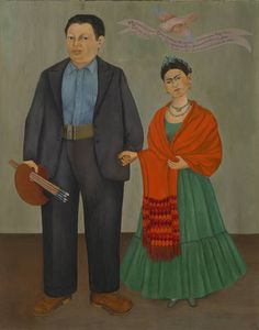 "Frida Kahlo, ""Frieda and Diego Rivera"", 1931"