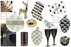 Prawdziwy glamour: blask złota, kontrasty czerni i bieli, luksusowe dodatki  … A szklane bombki z ExArte - zapraszamy!