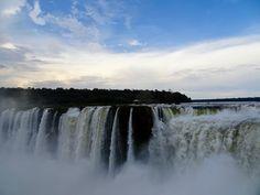 Devil's Throat from above, Iguazu Falls Iguazu Falls, Niagara Falls, South America, Waterfall, Nature, Travel, Outdoor, Outdoors, Naturaleza