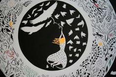Paper Cutting by Sarah Dennis.. Wonderful..