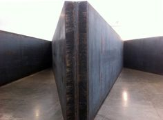 """Richard Serra, Plates, 6 Angles"""" (detail) 7 plates, weatherproof steel, each plate: x x overall dimensions: x x Abstract Sculpture, Wood Sculpture, Bronze Sculpture, Metal Sculptures, Martin Puryear, Richard Serra, Barbara Hepworth, Henry Moore, Antony Gormley"""