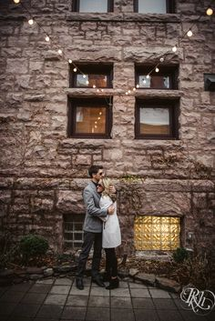 Megan and Jeff's Minneapolis engagement photography at the Van Dusen Mansion. All photography by RKH Images. Engagement Photography, Engagement Photos, Winter Engagement, Night Time, Christmas Lights, Minnesota, The Incredibles, Mansions, Christmas Fairy Lights