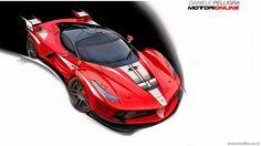 Ferrari LaFerrari XX Wallpaper HD 720p Wallpaper