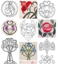 lovely embroidery patterns thanks  meggiecat:Embroidery Blog!!!!
