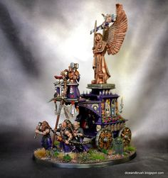 Age of Sigmar | Devoted of Sigmar | War Altar of Sigmar #warhammer #ageofsigmar #aos #sigmar #wh #whfb #gw #gamesworkshop #wellofeternity #miniatures #wargaming #hobby #fantasy