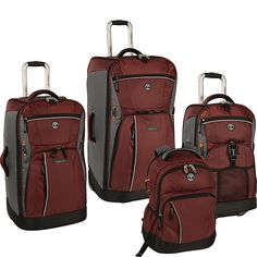 269c5b3e637 Timberland Danvers River 4 Piece Luggage Set A great travel piece well  equipped and suitable for all your travel needs. Travel Bags