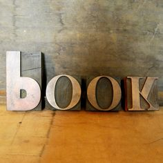 Wood Type Book