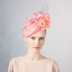 Acacia- Floral Beret with Twirl