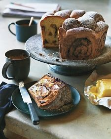 Chocolate Kugelhopf Recipe-This cake makes a delicious breakfast, sliced, toasted, and buttered. Need to substitute the flour to be GF.