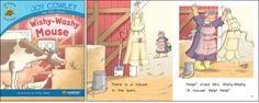 Wishy-Washy Mouse—by Joy Cowley Series: Joy Cowley Early Birds GR Level: D Genre: Narrative, Fiction