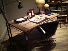 """Flatiron 72"""" desk from restoration hardware"""