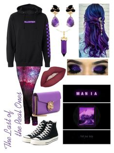 """""""Mania"""" by monicarose0105 on Polyvore featuring Simone I. Smith and Converse"""
