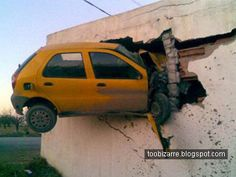 images about Car OMG crashes y motorbikes on Pinterest Car crash