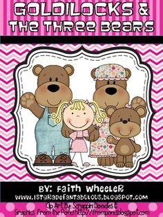 Language Arts - Fairy Tales (Goldilocks & the Three Bears)