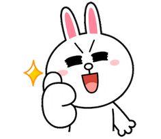 Im Hyunsik, Yook Sungjae, Btob, Friends Gif, Line Friends, Line Cony, Line Animation, Cony Brown, Dancing King
