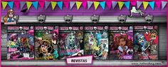 Revistas Monster High 32 a 39 | Helenitaz... personal blog