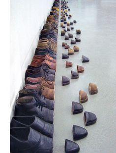 Shoe installation -- SakirGökçebag