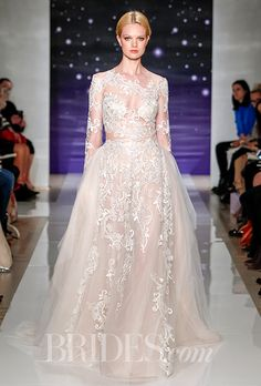 Brides: Reem Acra Wedding Dresses   Spring 2016   Bridal Runway Shows   Brides.com | Wedding Dresses Style