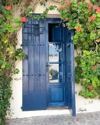 The 26 Most Breathtakingly Beautiful Blue Doors From Around the World House Front Door, Eye Candy, Shed, Around The Worlds, Outdoor Structures, Windows, Doors, Architecture, Outdoor Decor