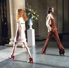 Flared dungarees by Topshop Unique AW15