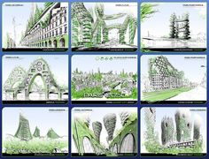 Vincent Callebaut's 2050 Vision of Paris as a
