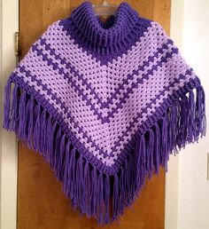 Cowl Neck poncho - Simply Crochet Issue #25 Crocheted by me: Juliana Stassen Carney