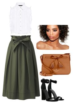 """Untitled #371"" by mveltmuisenco on Polyvore featuring Uniqlo, Marissa Webb, Kendall + Kylie and Kate Spade"