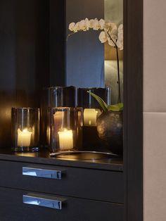 Candle Sconces, Home Interior Design, Wall Lights, Villa, Candles, Lighting, Powder Room, House Ideas, Home Decor