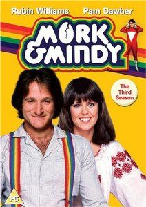 Mork & MIndy - R.I.P. Robin WIlliams (July 21st 1951 - August 11th 2014). We have lost a true comedy genius.