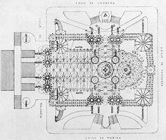 Antoni Gaudi's design drawings of the Sagrada Familia