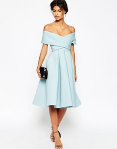 Off the shoulder ASOS dress
