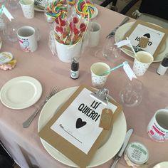 Mesa niños boda J + J