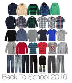 Boy's Back to School 2016 Capsule Wardrobe