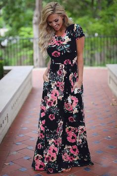 adc1bbce8e0 Women Bohemia Floral Print Summer Dress