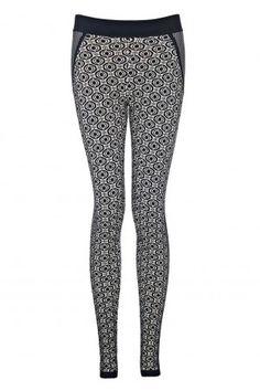 Laur Patterned Leggings - Just in - Shop - London-Boutiques.com