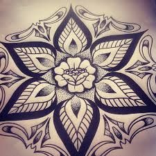 Bildergebnis für old school tattoo mandala