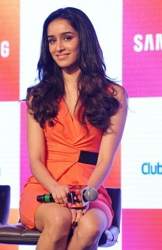 Shraddha Kapoor at an event by Samsung.