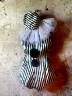 vintage circus clown pierrot costume