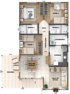 House Floor Design, Sims House Design, Home Design Floor Plans, Home Building Design, Bungalow House Design, Small House Design, Small House Floor Plans, Dream House Plans, House Layout Plans